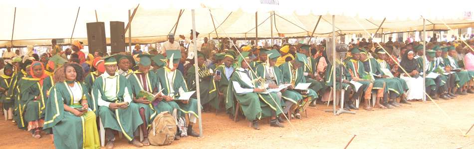 Graduating Students at the 18th Combined Convocation